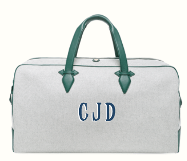 Paravel Monogrammed Duffle