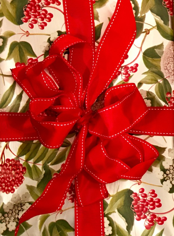 Caspari gift wrap for The Potted Boxwood 14