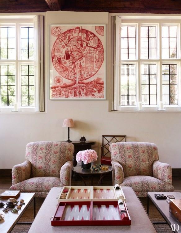 Claudia Schiffers Home via AD