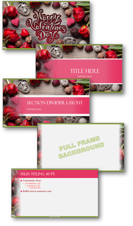 FREE Valentine\u0027s Day PowerPoint Template The PowerPoint Blog
