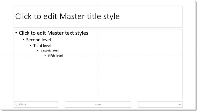 PowerPoint Guides Master vs Slide The PowerPoint Blog