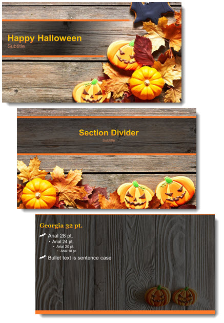 Free Halloween Theme PowerPoint Template The PowerPoint Blog