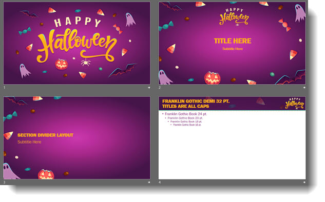 Free Halloween PowerPoint Template! The PowerPoint Blog