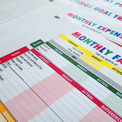 Budget Binder Printables - The Practical Saver