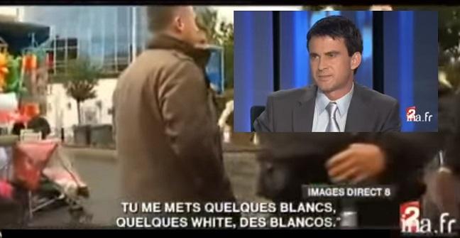 Valls et les « blancos » - ThePrairie.fr !