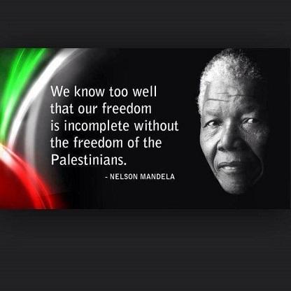 Nelson Mandela - Palestine - ThePrairie.fr !