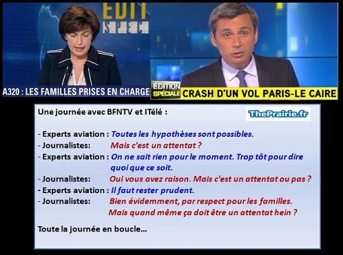 BFM, ITélé et l'envie de la thèse de l'attentat - ThePrairie.fr !