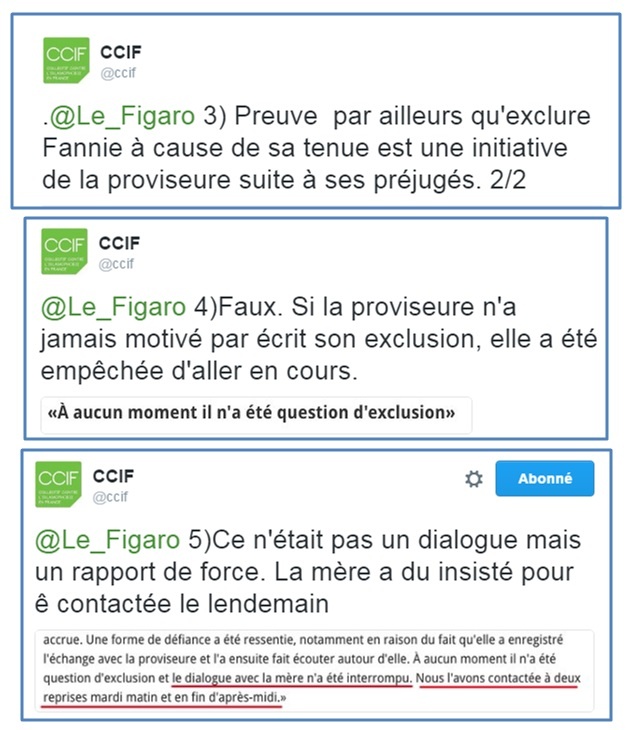 CCIF - Tweets fact-checking Le Figaro - ThePrairie.fr !