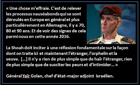 General Yaïr Golan - ThePrairie.fr !