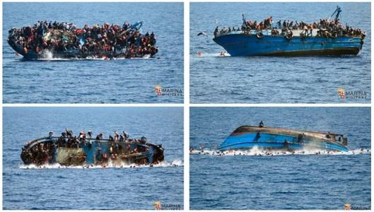 Naufrage au large de la Lybie - Marine italienne - ThePrairie.fr !