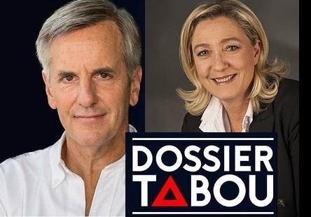 Bernard de la Villardiere - Marine Le Pen - ThePrairie.fr !