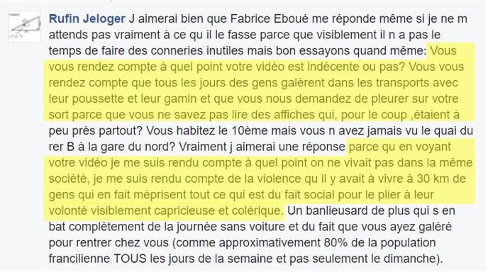Facebok Fabrice Éboué - ThePrairie.fr !