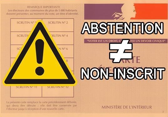 Abstention et inscription - ThePrairie.fr !
