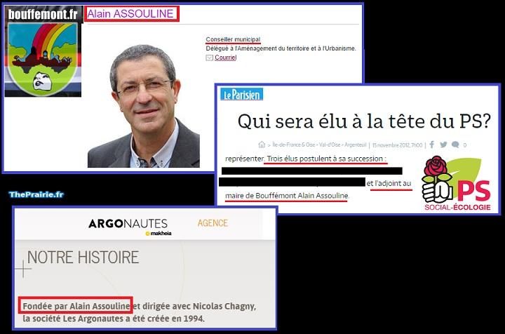 """Alain Assouline, élu PS et fondateur de l'agence """"Les Argonautes"""" - ThePrairie.fr !"""