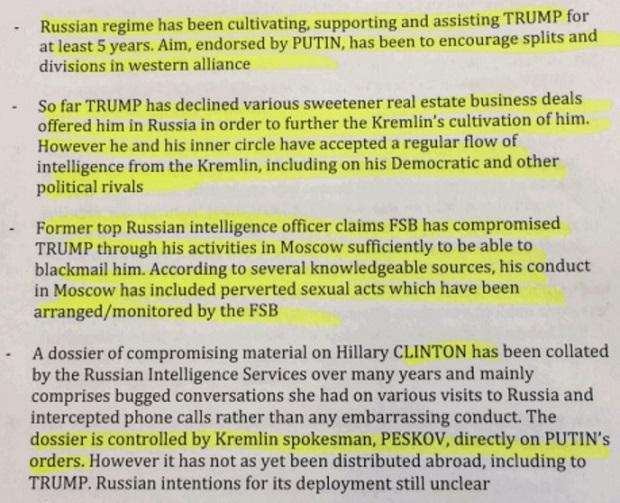 Rapports entre Trump et Kremlin, Buzzfeed - ThePrairie.fr !