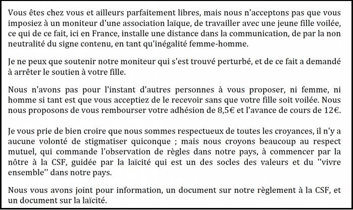 Soutien scolaire et voile Partie 2, CCIF - ThePrairie.fr !
