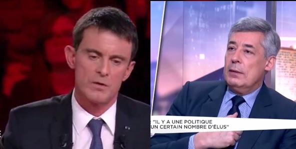 Valls et Henri Guaino, France 2, LCI - ThePrairie.fr !