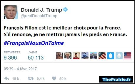 Vladimir Poutine soutient François Fillon - ThePrairie.fr !