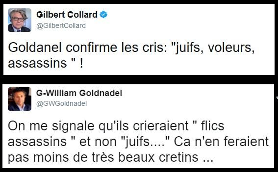 Tweeter Collard et Goldnadel - ThePrairie.fr !