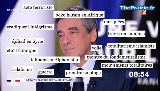 Fillon exploite la tuerie des Champs-Elysées - ThePrairie.fr !