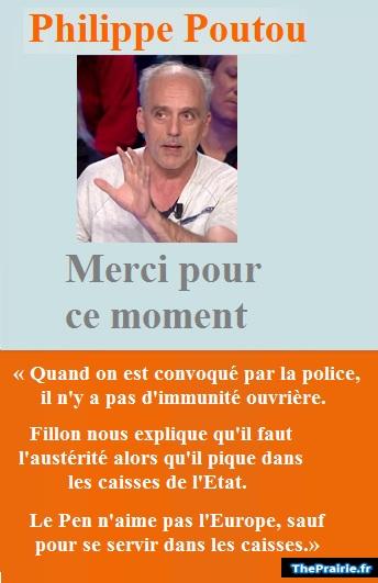 Philippe Poutou - Merci pour ce moment - ThePrairie.fr !