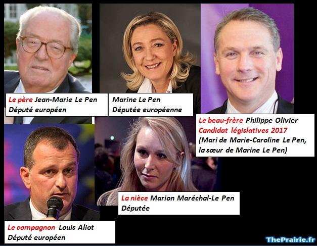 La famille Le Pen - ThePrairie.fr !