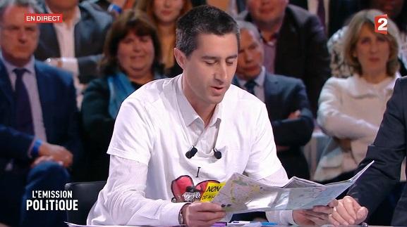 François Ruffin - Carte Amiens - Emission politique - ThePrairie.fr !