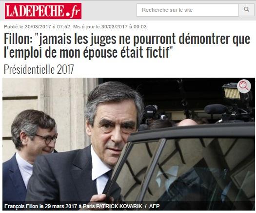 Fillon - Les juges ne pourront rien prouver - ThePrairie.fr !