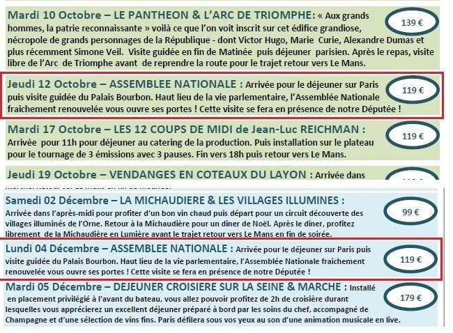 """Brochure """"Access Tour Le Mans - Députée Pascale Fontenel-Personne - ThePrairie.fr !"""