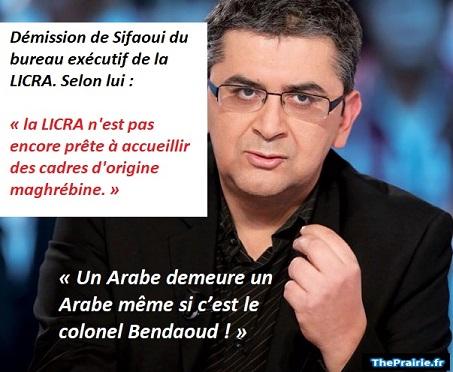 Sifaoui, le colonel Bendaoud - ThePrairie.fr !