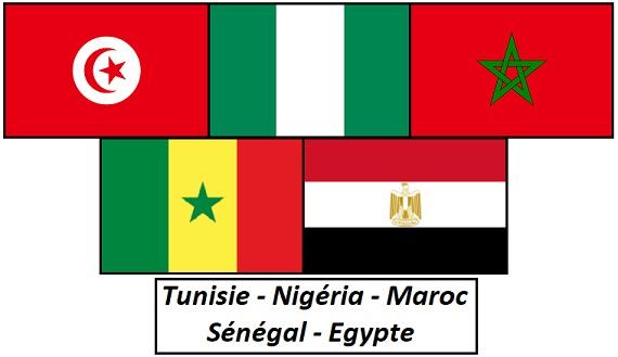 CDM 2018, équipes africaines qualifiées - ThePrairie.fr !