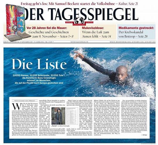 Tagesspiegel, Die Liste - ThePrairie.fr !