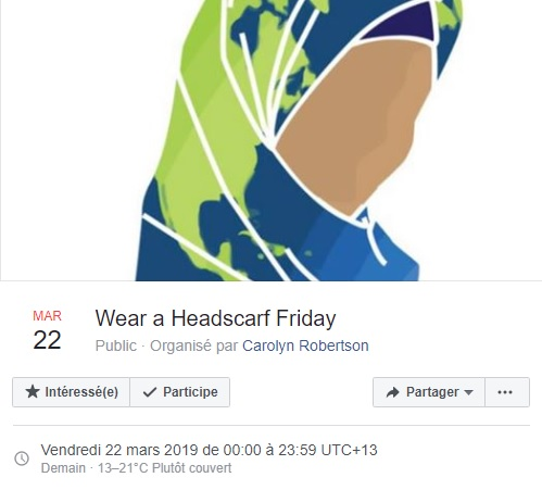 Wear a Headscarf Friday