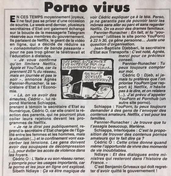 Porno virus