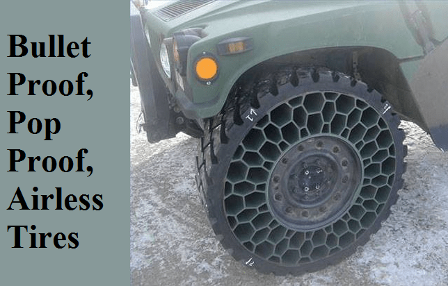 Bullet Proof Tires >> Bullet Proof Pop Proof Airless Tires The Prepared Page The