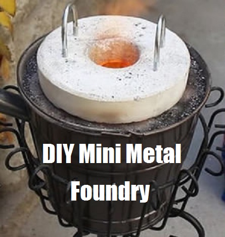 diy mini metal foundry the prepared page