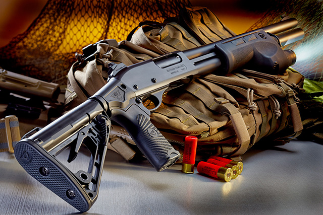 The Wilson Combat CQB Shotgun - When you have a lot of money to spend.