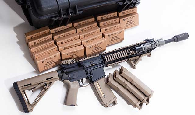 The AR-15 is a common choice for a Prepper firearm.
