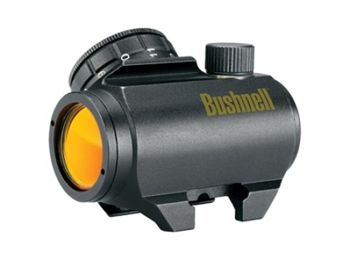 Bushnell Trophy TRS-25. Lower cost alternative to something like the EOTech.