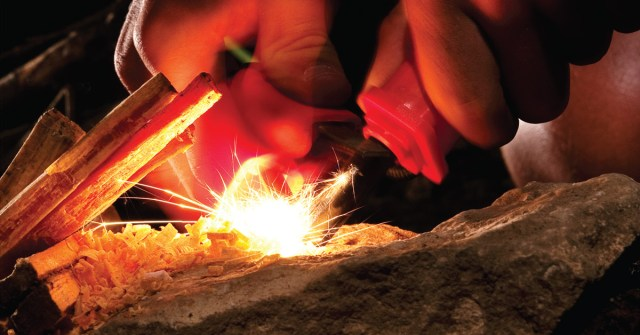The ferrocerium rod is at the heart of most bushmen's and survivalist's fire starting kit.