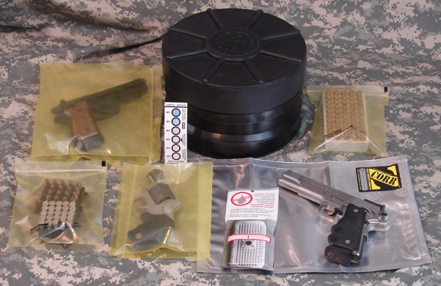 "Mono Vault 107, Black, Dry Box Cache Tube, 10.5"" diameter x 7"" high"