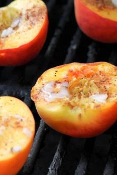 Grilled Peaches - www.ThePrimalDesire.com