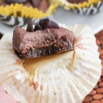 Paleo Cherry Chocolate Cheesecake - www.ThePrimalDesire.com