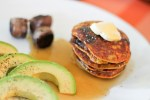 Paleo Peach Blueberry Pancakes - www.ThePrimalDesire.com