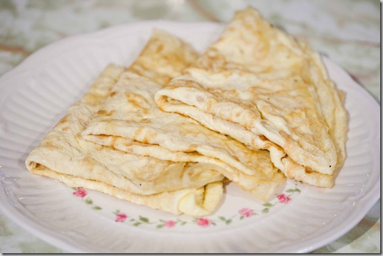 Paleo Crepes to Make and Store
