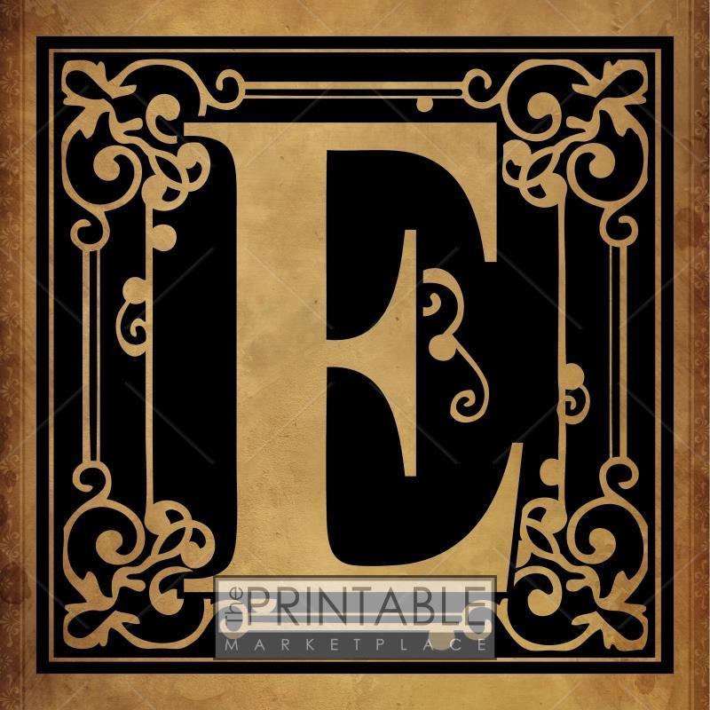 Classic Brown Monogram 3-E