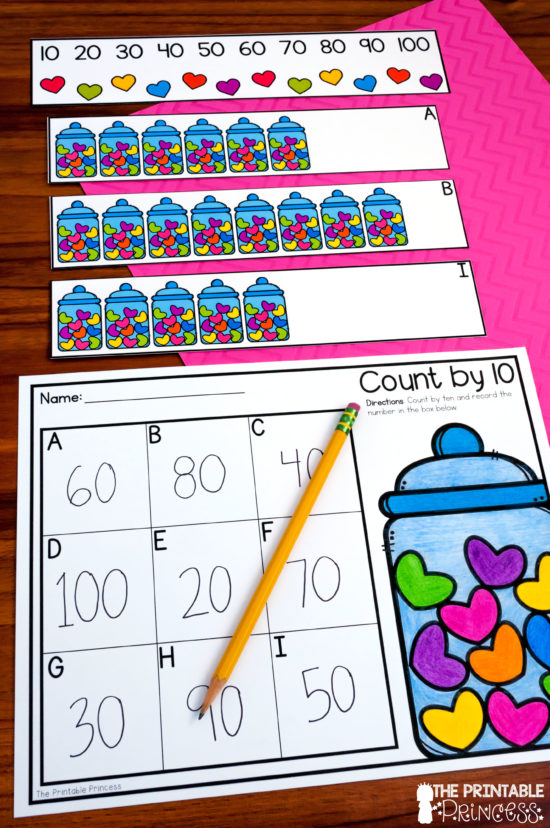 100th Day of School Activities The Printable Princess