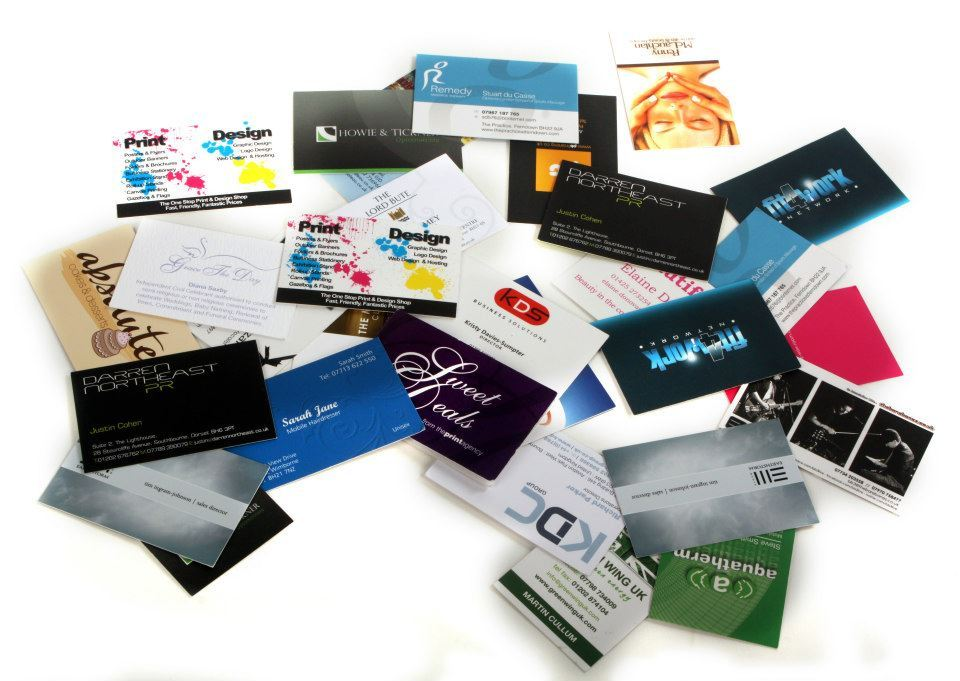 Business Card Printing and Stationery printing ferndown bournemouth