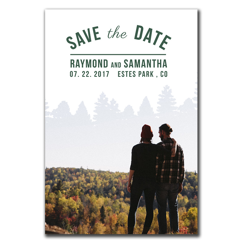 Wedding Save The Date Fun Flips Archives - The Print Cafe