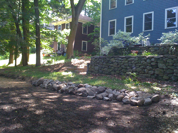 Leveling A Concord Backyard | The Productive Earth